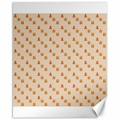 Christmas Wrapping Paper Canvas 16  X 20
