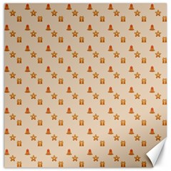 Christmas Wrapping Paper Canvas 20  X 20