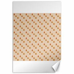 Christmas Wrapping Paper Canvas 20  X 30