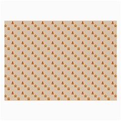 Christmas Wrapping Paper Large Glasses Cloth (2 Side)