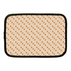 Christmas Wrapping Paper Netbook Case (medium)