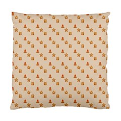 Christmas Wrapping Paper Standard Cushion Case (two Sides)