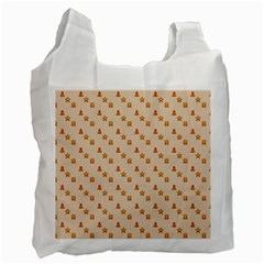Christmas Wrapping Paper Recycle Bag (one Side)