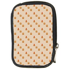 Christmas Wrapping Paper Compact Camera Cases