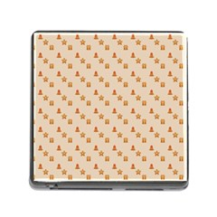 Christmas Wrapping Paper Memory Card Reader (square)