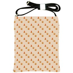 Christmas Wrapping Paper Shoulder Sling Bags