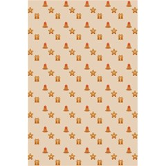 Christmas Wrapping Paper 5 5  X 8 5  Notebooks