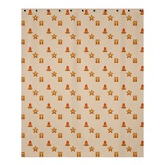 Christmas Wrapping Paper Shower Curtain 60  X 72  (medium)