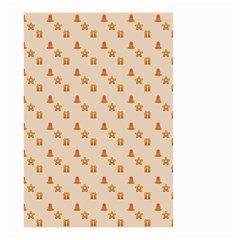 Christmas Wrapping Paper Small Garden Flag (two Sides)