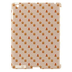Christmas Wrapping Paper Apple Ipad 3/4 Hardshell Case (compatible With Smart Cover)