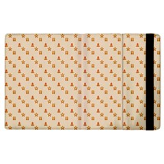 Christmas Wrapping Paper Apple Ipad 3/4 Flip Case