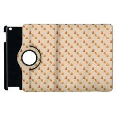 Christmas Wrapping Paper Apple Ipad 2 Flip 360 Case