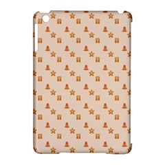 Christmas Wrapping Paper Apple Ipad Mini Hardshell Case (compatible With Smart Cover)