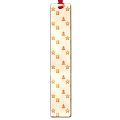 Christmas Wrapping Paper Large Book Marks