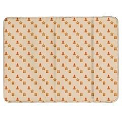 Christmas Wrapping Paper Samsung Galaxy Tab 7  P1000 Flip Case