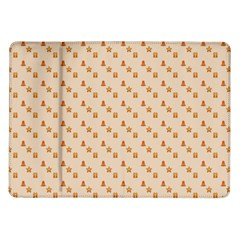 Christmas Wrapping Paper Samsung Galaxy Tab 10 1  P7500 Flip Case