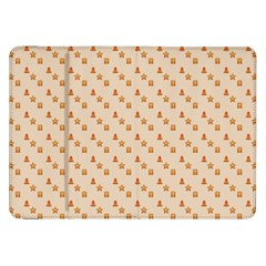 Christmas Wrapping Paper Samsung Galaxy Tab 8 9  P7300 Flip Case