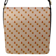 Christmas Wrapping Paper Flap Messenger Bag (s)