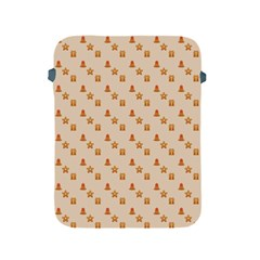 Christmas Wrapping Paper Apple Ipad 2/3/4 Protective Soft Cases