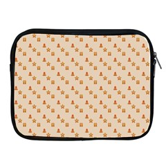 Christmas Wrapping Paper Apple Ipad 2/3/4 Zipper Cases