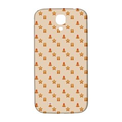 Christmas Wrapping Paper Samsung Galaxy S4 I9500/i9505  Hardshell Back Case