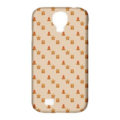 Christmas Wrapping Paper Samsung Galaxy S4 Classic Hardshell Case (pc+silicone)