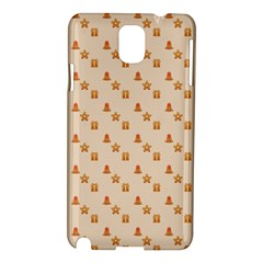 Christmas Wrapping Paper Samsung Galaxy Note 3 N9005 Hardshell Case