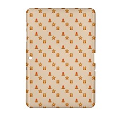 Christmas Wrapping Paper Samsung Galaxy Tab 2 (10 1 ) P5100 Hardshell Case