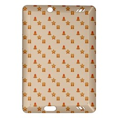 Christmas Wrapping Paper Amazon Kindle Fire Hd (2013) Hardshell Case