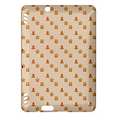 Christmas Wrapping Paper Kindle Fire Hdx Hardshell Case