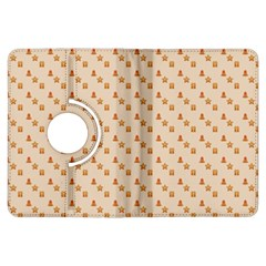 Christmas Wrapping Paper Kindle Fire Hdx Flip 360 Case