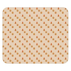 Christmas Wrapping Paper Double Sided Flano Blanket (small)