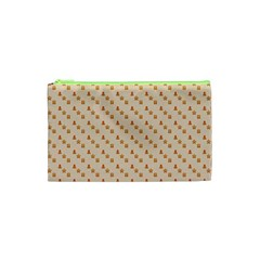 Christmas Wrapping Paper Cosmetic Bag (xs)