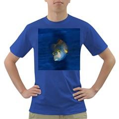 Fish Blue Animal Water Nature Dark T Shirt