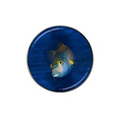 Fish Blue Animal Water Nature Hat Clip Ball Marker (4 Pack)