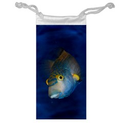 Fish Blue Animal Water Nature Jewelry Bag