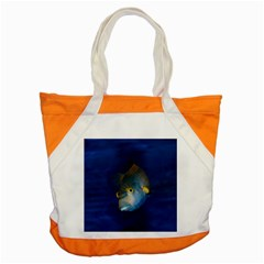 Fish Blue Animal Water Nature Accent Tote Bag