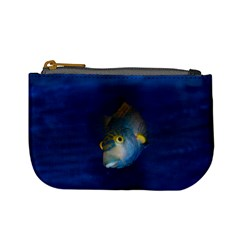 Fish Blue Animal Water Nature Mini Coin Purses