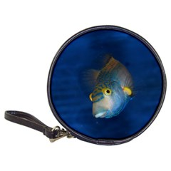 Fish Blue Animal Water Nature Classic 20 Cd Wallets