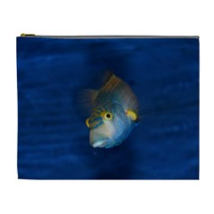 Fish Blue Animal Water Nature Cosmetic Bag (xl)