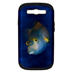 Fish Blue Animal Water Nature Samsung Galaxy S Iii Hardshell Case (pc+silicone)