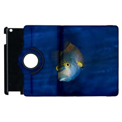 Fish Blue Animal Water Nature Apple Ipad 2 Flip 360 Case