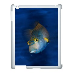 Fish Blue Animal Water Nature Apple Ipad 3/4 Case (white)