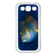 Fish Blue Animal Water Nature Samsung Galaxy S3 Back Case (white)