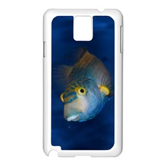 Fish Blue Animal Water Nature Samsung Galaxy Note 3 N9005 Case (white)