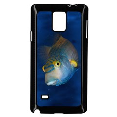 Fish Blue Animal Water Nature Samsung Galaxy Note 4 Case (black)
