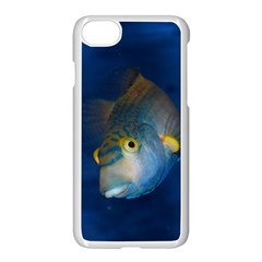 Fish Blue Animal Water Nature Apple Iphone 7 Seamless Case (white)