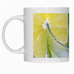 Cold Drink Lime Drink Cocktail White Mugs