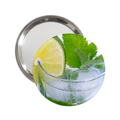 Cold Drink Lime Drink Cocktail 2.25  Handbag Mirrors