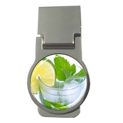 Cold Drink Lime Drink Cocktail Money Clips (Round)